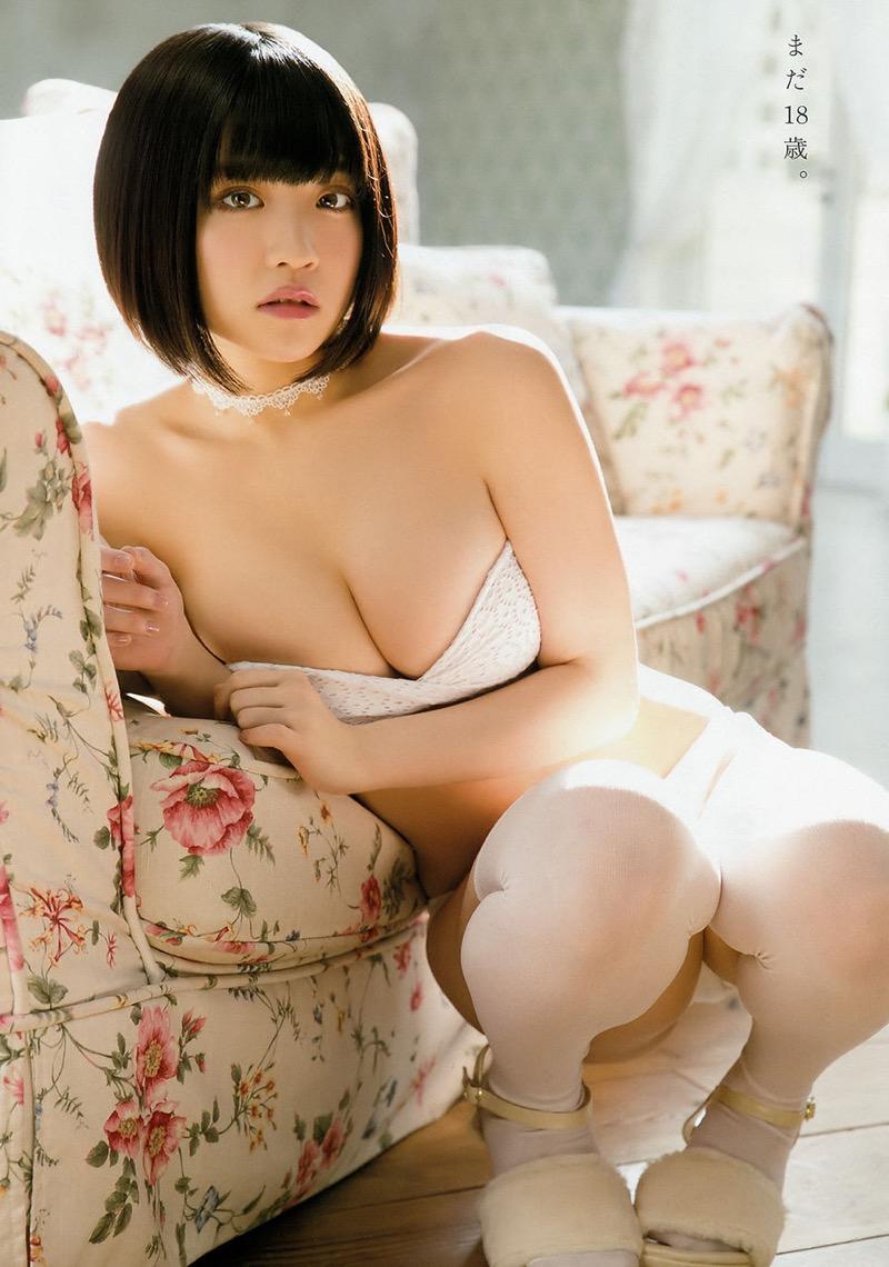 【根本凪グラビア画像】ボブヘアが可愛いGカップ美少女アイドルのビキニエロ画像 04