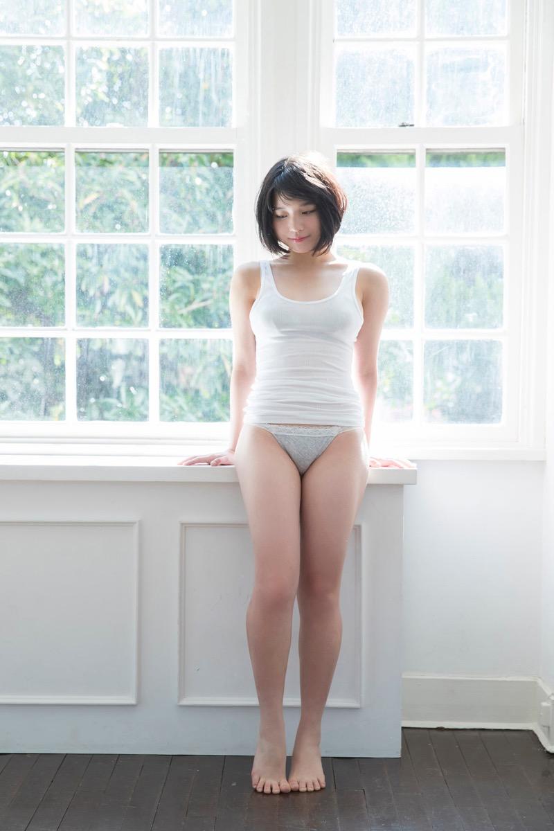 【根本凪グラビア画像】ボブヘアが可愛いGカップ美少女アイドルのビキニエロ画像 78