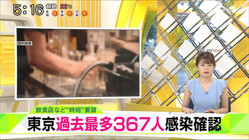 【大家彩香キャプ画像】ニット越し着衣オッパイがエロい女子アナウンサー 71