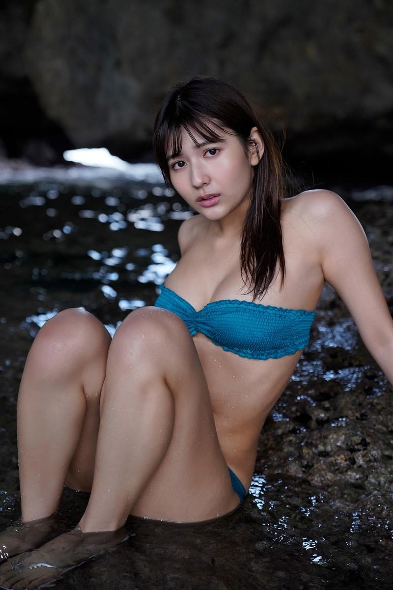【新井遥グラビア画像】ミスマガ2020グランプリを獲った歴代最年長グラドル 64