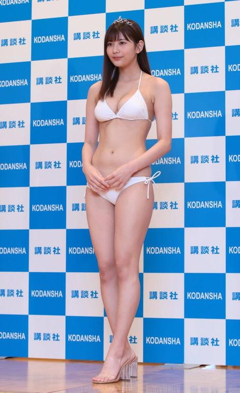【新井遥グラビア画像】ミスマガ2020グランプリを獲った歴代最年長グラドル 78