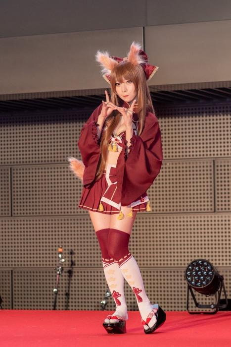 【宮本彩希グラビア画像】Eカップ巨乳コスプレイヤーのエロかわショット! 24