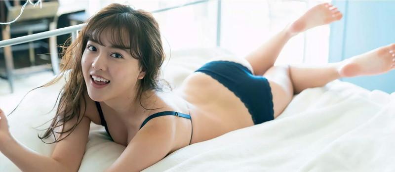 【由良朱合グラビア画像】元アイドルやってた現役JDのセクシー水着姿 28