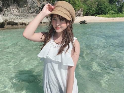 【由良朱合グラビア画像】元アイドルやってた現役JDのセクシー水着姿 71