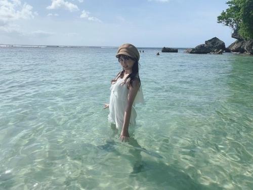 【由良朱合グラビア画像】元アイドルやってた現役JDのセクシー水着姿 73