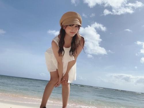 【由良朱合グラビア画像】元アイドルやってた現役JDのセクシー水着姿 74