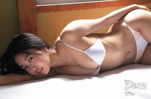 【舞子グラビア画像】今年女子大生になったHカップ爆乳ボディの和風顔グラドル 11