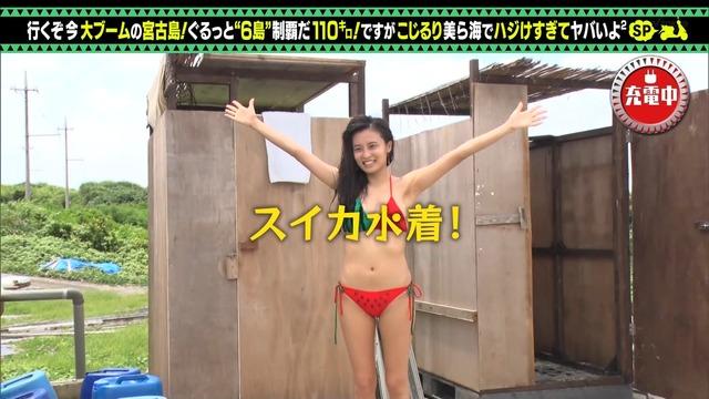 【小島瑠璃子キャプ画像】自粛で体重が増えたから痩せないとグラビア辞めるってw 29