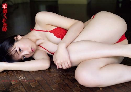 【華村あすかグラビア画像】女優やってるけど水着姿もいっぱい撮って欲しい!