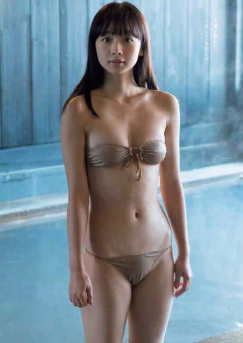 【華村あすかグラビア画像】女優やってるけど水着姿もいっぱい撮って欲しい! 63