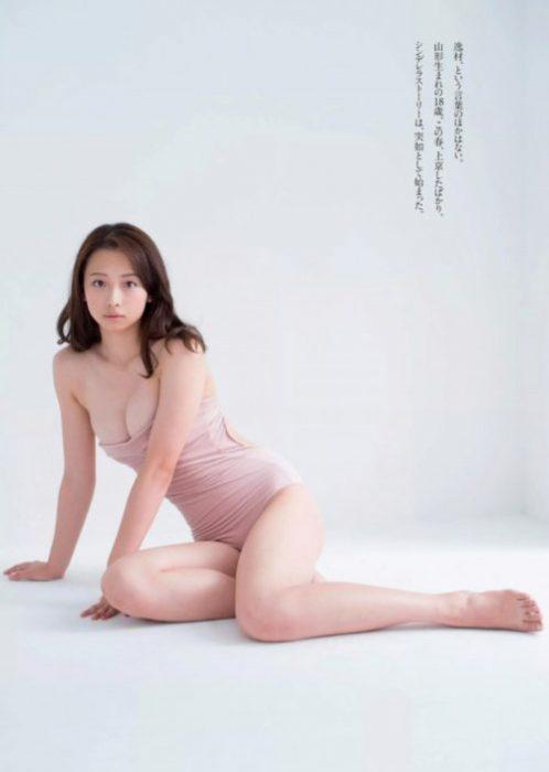 【華村あすかグラビア画像】女優やってるけど水着姿もいっぱい撮って欲しい! 70