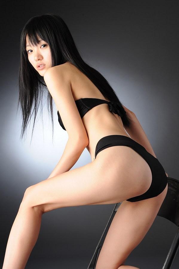 【柳恵梨菜グラビア画像】ストレートな黒髪が美少女感あって可愛いのに勿体ない! 53