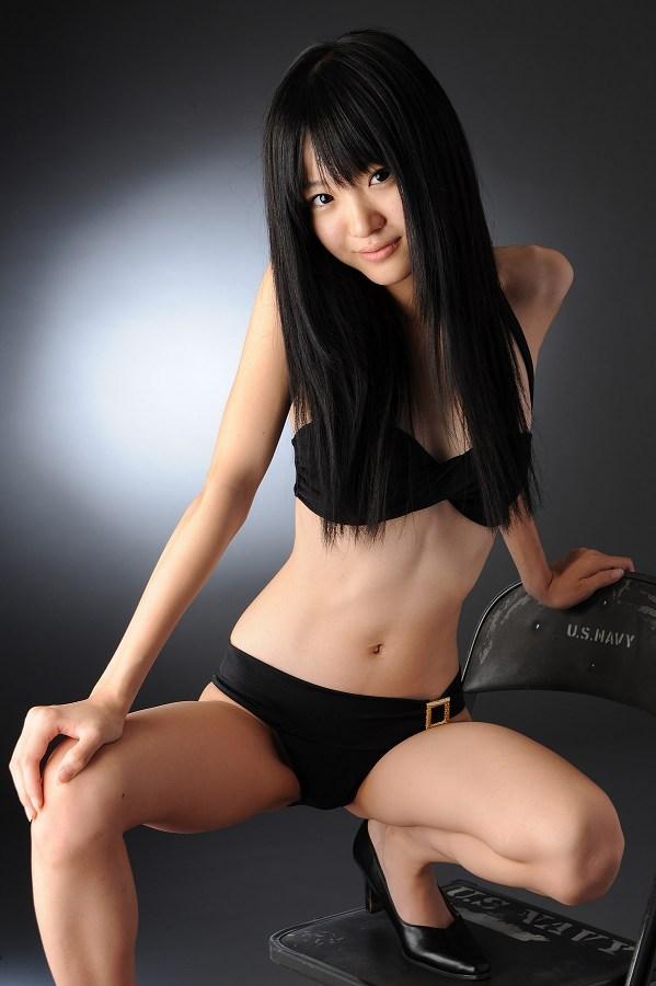 【柳恵梨菜グラビア画像】ストレートな黒髪が美少女感あって可愛いのに勿体ない! 56