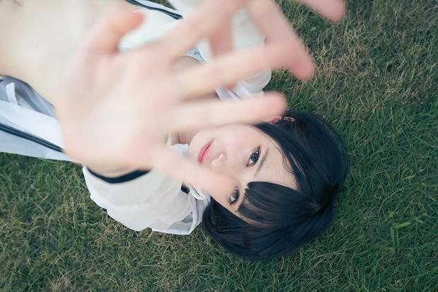 【つぶらグラビア画像】奇跡のスレンダー巨乳美少女の激エロビキニ画像! 36