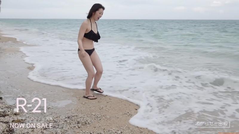 【山岸理子エロ画像】アイドル的な可愛さの中にセクシーさを垣間見る 12