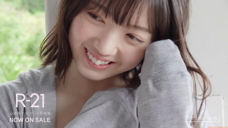 【山岸理子エロ画像】アイドル的な可愛さの中にセクシーさを垣間見る 48