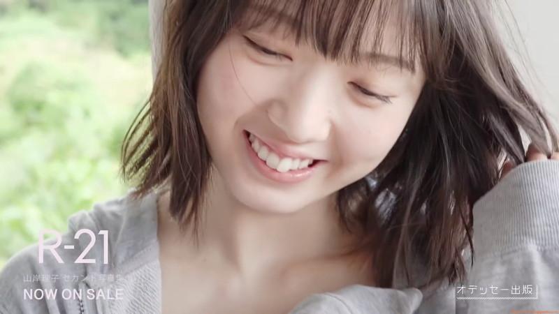 【山岸理子エロ画像】アイドル的な可愛さの中にセクシーさを垣間見る 49