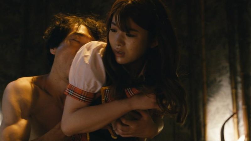 【馬場ふみか濡れ場画像】Fカップ女優が風俗で働き襲われてるエロシーン 33
