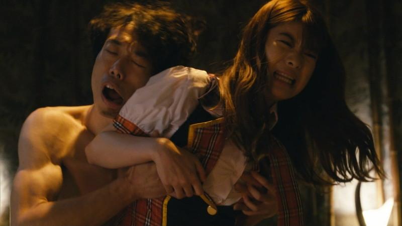 【馬場ふみか濡れ場画像】Fカップ女優が風俗で働き襲われてるエロシーン 34