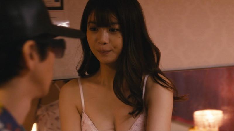 【馬場ふみか濡れ場画像】Fカップ女優が風俗で働き襲われてるエロシーン 54