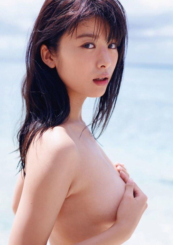 【馬場ふみか濡れ場画像】Fカップ女優が風俗で働き襲われてるエロシーン 76