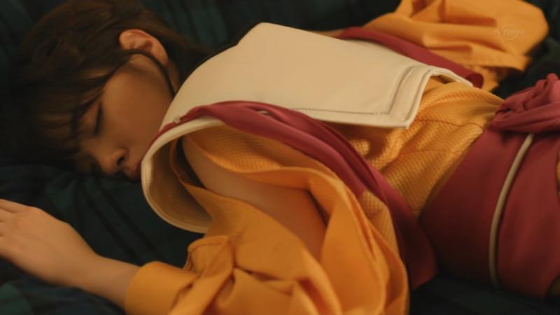 【西野七瀬お宝画像】テレビドラマで電影少女を演じてた時のエッチなシーン!