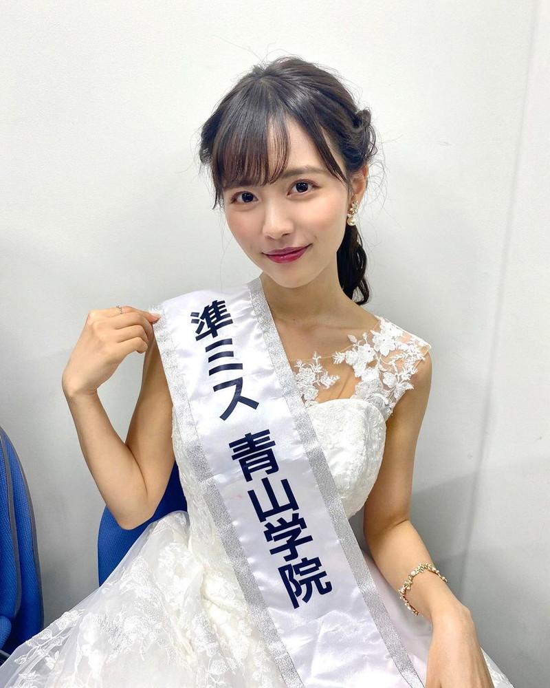 【新田さちかエロ画像】ミス青山学院大学2020で準グランプリを獲った読者モデル 25