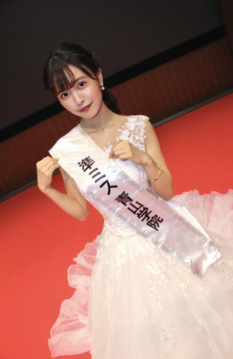 【新田さちかエロ画像】ミス青山学院大学2020で準グランプリを獲った読者モデル 50