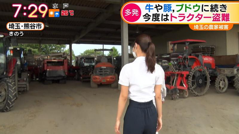 【新井恵理那キャプ画像】人気アラサー女子アナのニット越しおっぱい! 77