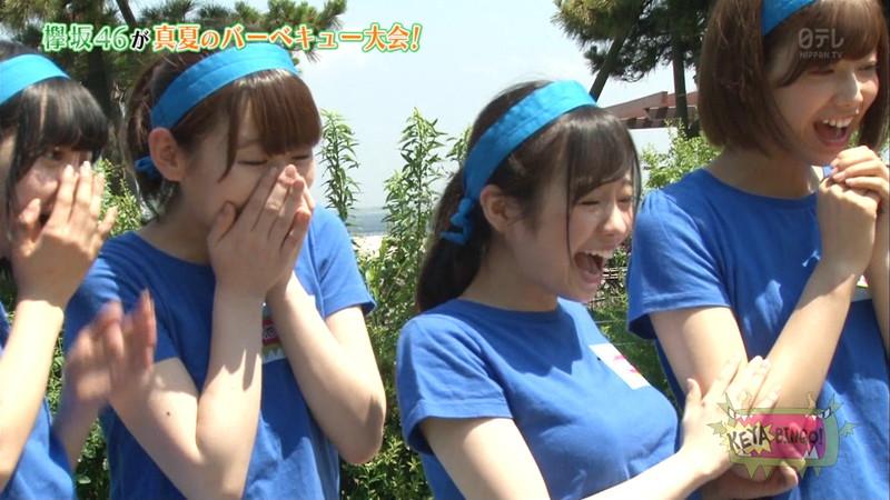 【櫻坂46エロ画像】改名して新しいスタートを切ったグループアイドルの水着写真 78