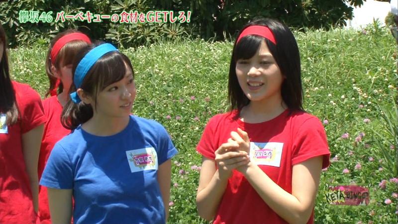 【櫻坂46エロ画像】改名して新しいスタートを切ったグループアイドルの水着写真 79