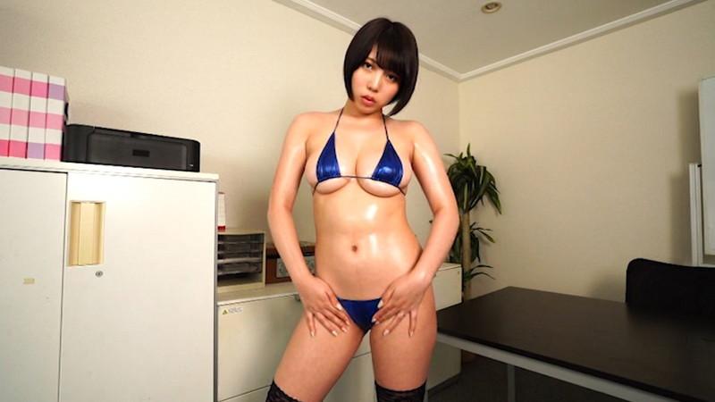 【安位カヲルキャプ画像】グラドルからAV女優転向を決めたHカップのエロ美女! 11