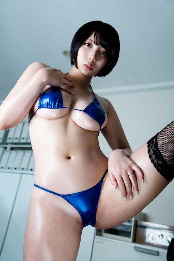 【安位カヲルキャプ画像】グラドルからAV女優転向を決めたHカップのエロ美女! 62