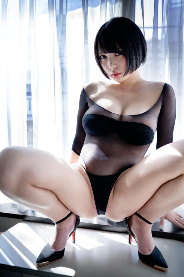 【安位カヲルキャプ画像】グラドルからAV女優転向を決めたHカップのエロ美女! 64