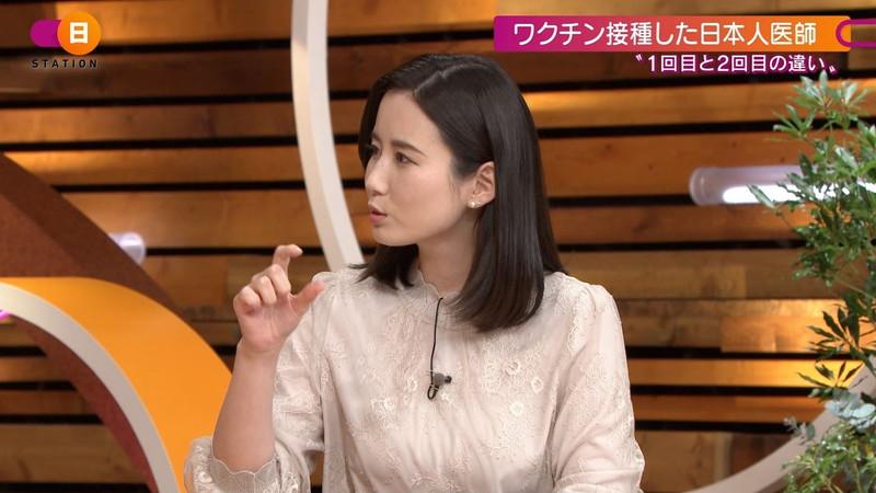 【森川夕貴キャプ画像】疑似フェラ以外にスケスケ衣装まで着てる女子アナwwww 17