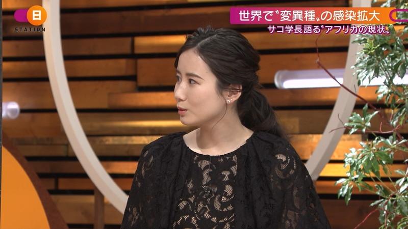 【森川夕貴キャプ画像】疑似フェラ以外にスケスケ衣装まで着てる女子アナwwww 44
