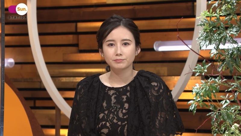 【森川夕貴キャプ画像】疑似フェラ以外にスケスケ衣装まで着てる女子アナwwww 46