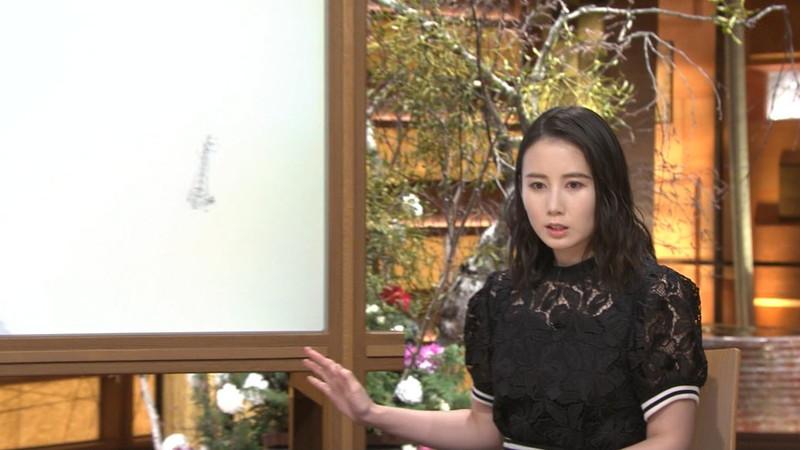 【森川夕貴キャプ画像】疑似フェラ以外にスケスケ衣装まで着てる女子アナwwww 56