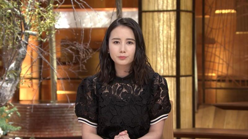 【森川夕貴キャプ画像】疑似フェラ以外にスケスケ衣装まで着てる女子アナwwww 58