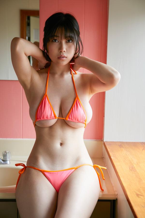 【伊織いおキャプ画像】スレンダーJカップとかいうアンバランスボディが好き過ぎる! 79