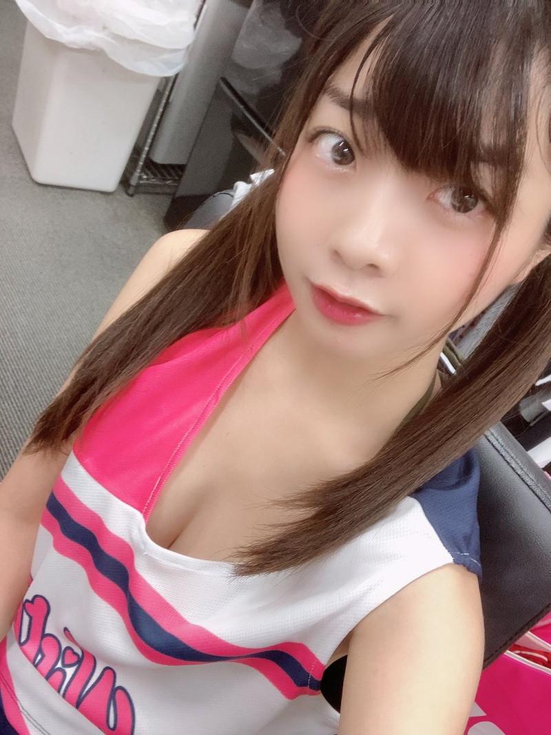 【柚月彩那エロ画像】ミニマムボディにGカップ巨乳のアンバランスさがエロい! 83