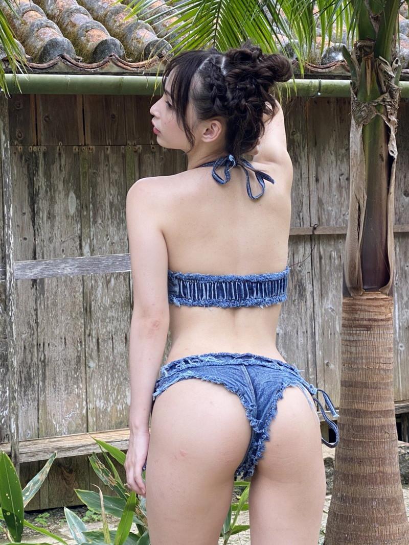 【鶴巻星奈キャプ画像】元ジュニアアイドルだけど今もエロいイメージ撮ってるねw 70