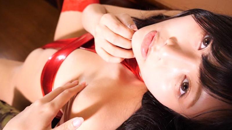 【橋本ひかりキャプ画像】寄せた谷間!食い込むハイレグ!全てがめちゃシコ! 10