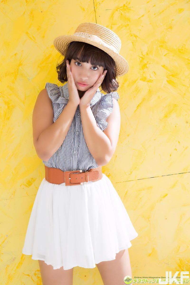 【牧野紗弓エロ画像】Fカップ巨乳のモデル系ボディが激エロいハーフ美少女 04