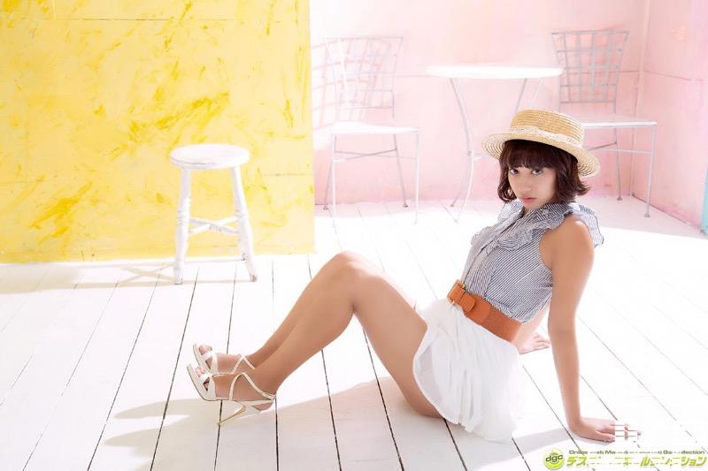 【牧野紗弓エロ画像】Fカップ巨乳のモデル系ボディが激エロいハーフ美少女 06
