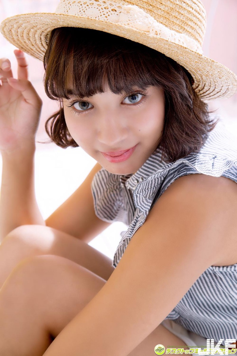 【牧野紗弓エロ画像】Fカップ巨乳のモデル系ボディが激エロいハーフ美少女 07
