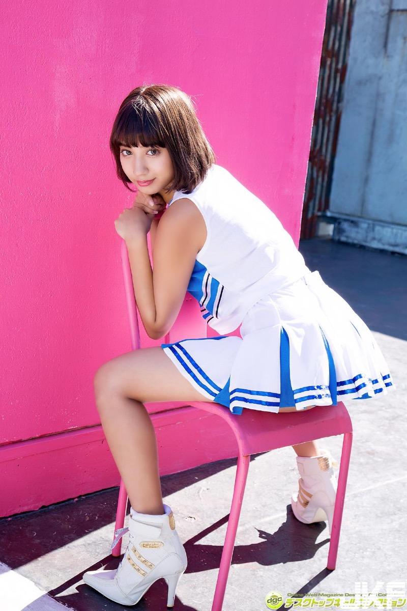 【牧野紗弓エロ画像】Fカップ巨乳のモデル系ボディが激エロいハーフ美少女 23