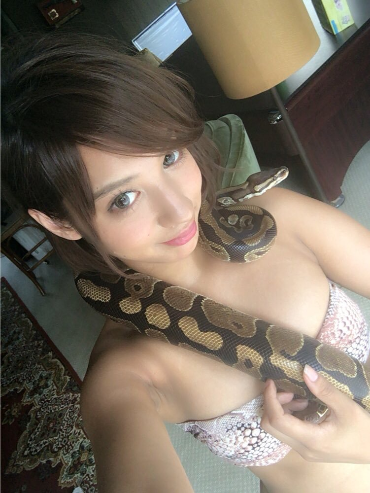 【牧野紗弓エロ画像】Fカップ巨乳のモデル系ボディが激エロいハーフ美少女 50