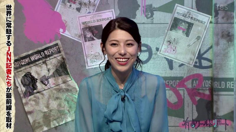 【女子アナキャプ画像】冬でも透けた薄手の衣装で楽しませてくれる局アナ! 69