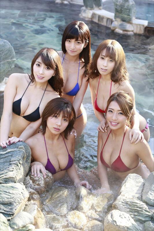 【リップガールズエロ画像】メンバー全員Gカップ以上って巨乳ハーレムじゃん! 09